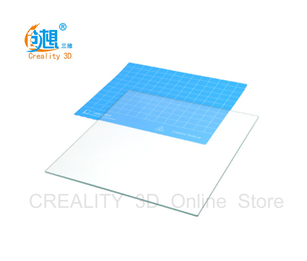 title='CREALITY 3D hotbed Plate Paper CR-10 300*300*400mm/Ender-2 150*150*200mm'